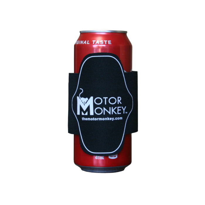 Motor Monkey Slap on Koozie