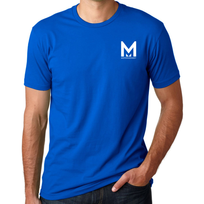 Motor Monkey Blue T-shirt