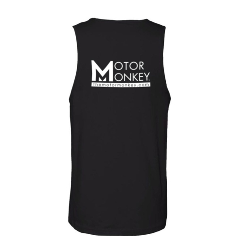 Motor Monkey- Mens Next Level Tank- back