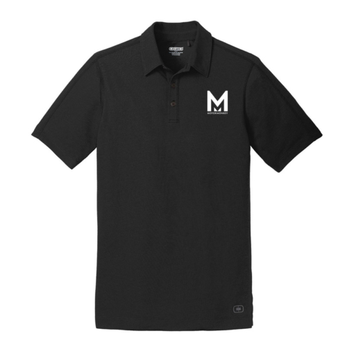 OGIO Mens Blacktop Onyx Polo